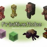 Minecraft France Primitive Mobs 1.4.7 Mod Mobs
