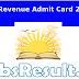 UP Revenue SDM Tehsildar RSA Driver Clerk Admit Card 2016