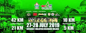 Melaka Marathon 2019 - 27~28-July 2019