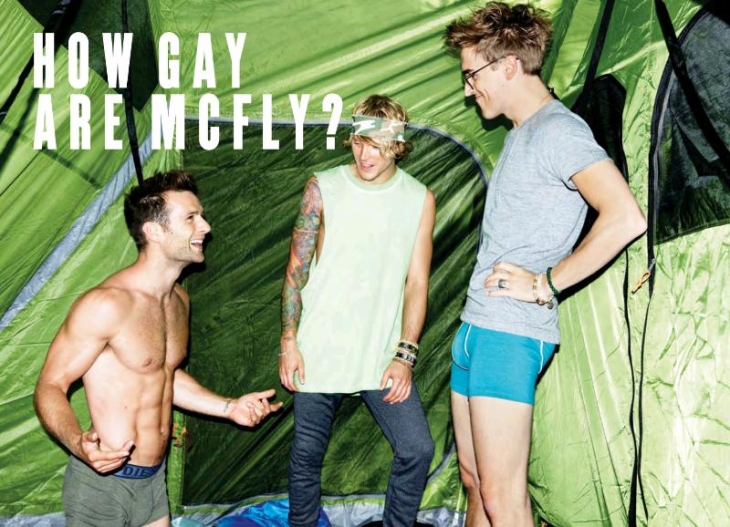 Rumor gay de Mcfly tom