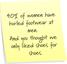 Footwear Sticky Note