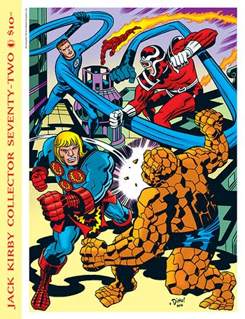 JACK KIRBY COLLECTOR #72