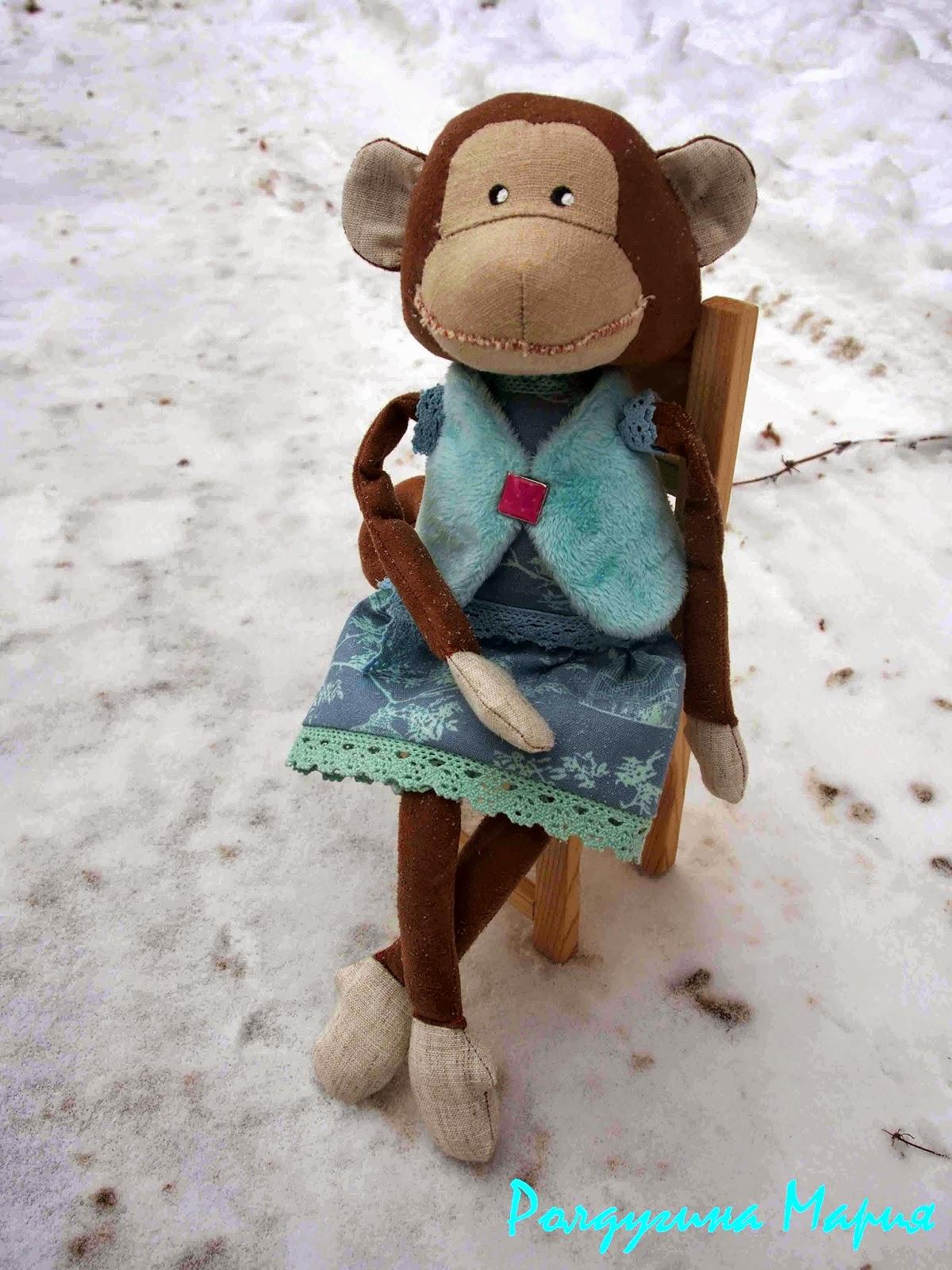 обезьянка картинка