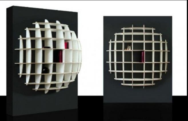 designer Estantes Moderna Modelos e Decorações 2013