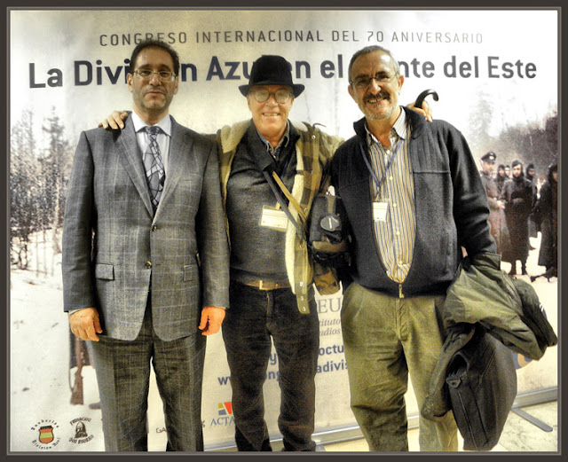 DIVISION AZUL-CONGRESO-MADRID-LUIS VALIENTE-ERNEST DESCALS-CARLOS CABALLERO JURADO-