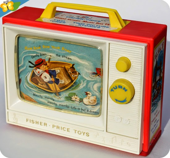 La télévision - Giant Screen - Music Box TV de Fisher-Price