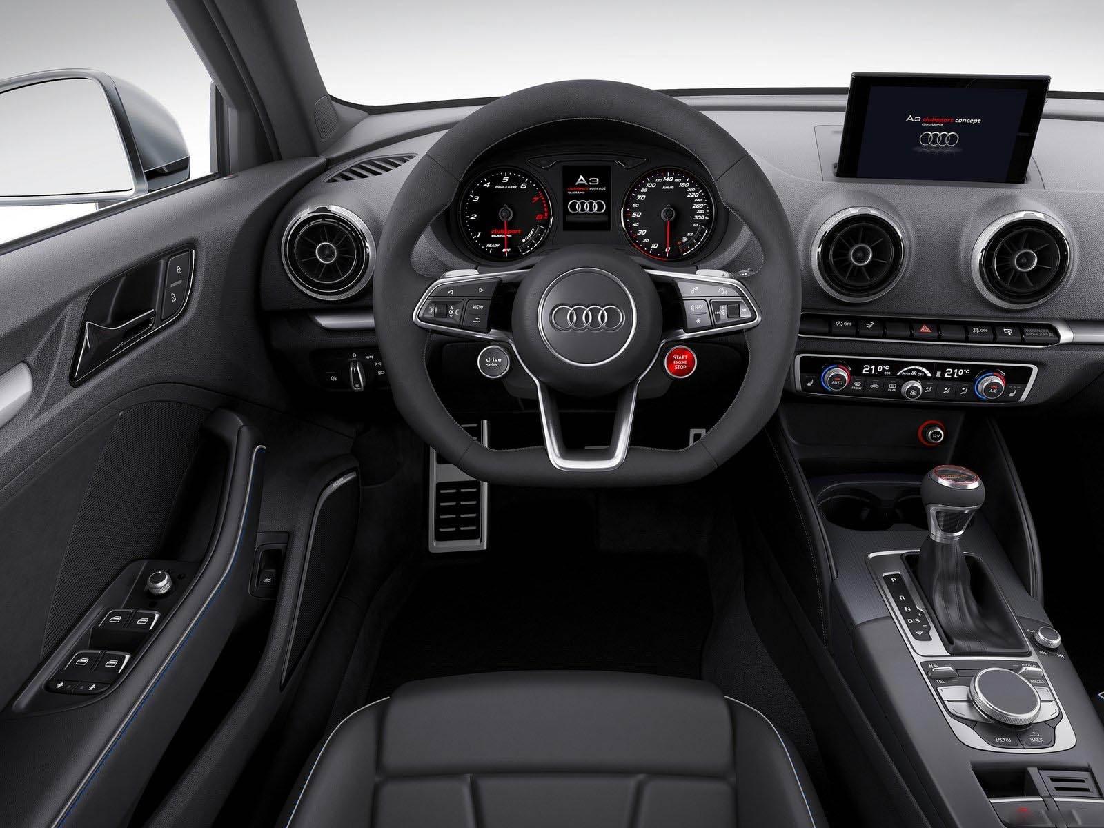 Audi A3 Clubsport quattro Concept - interior