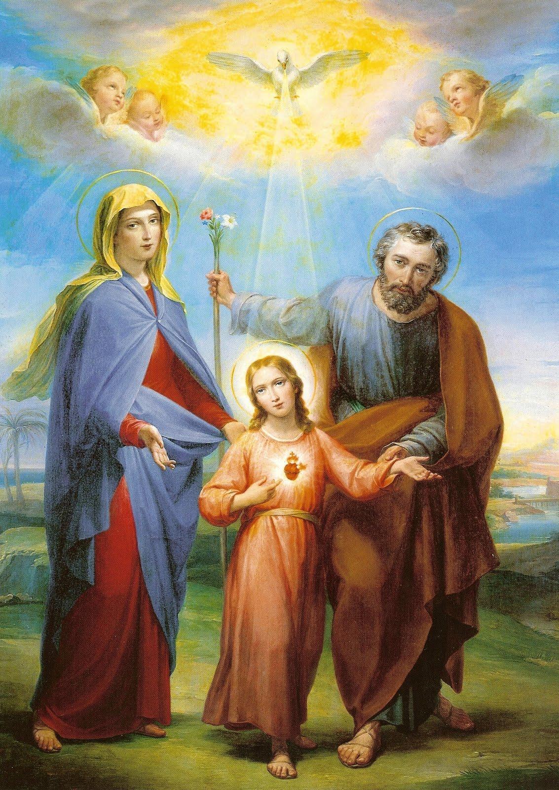 Pais de Jesus - N Senhora e São José