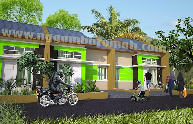 Desain Inspiratif Rumah Idaman Type 36