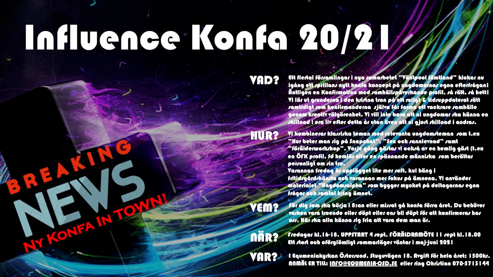 Influence Konfa 20/21