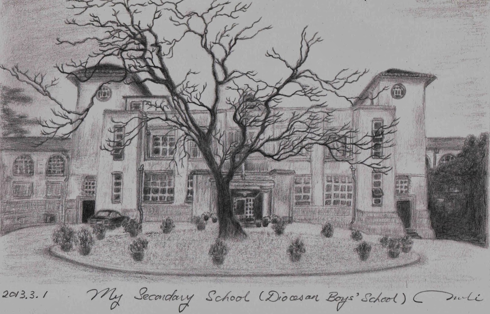 The cradle of my teenage dreams posted by pencil sketch