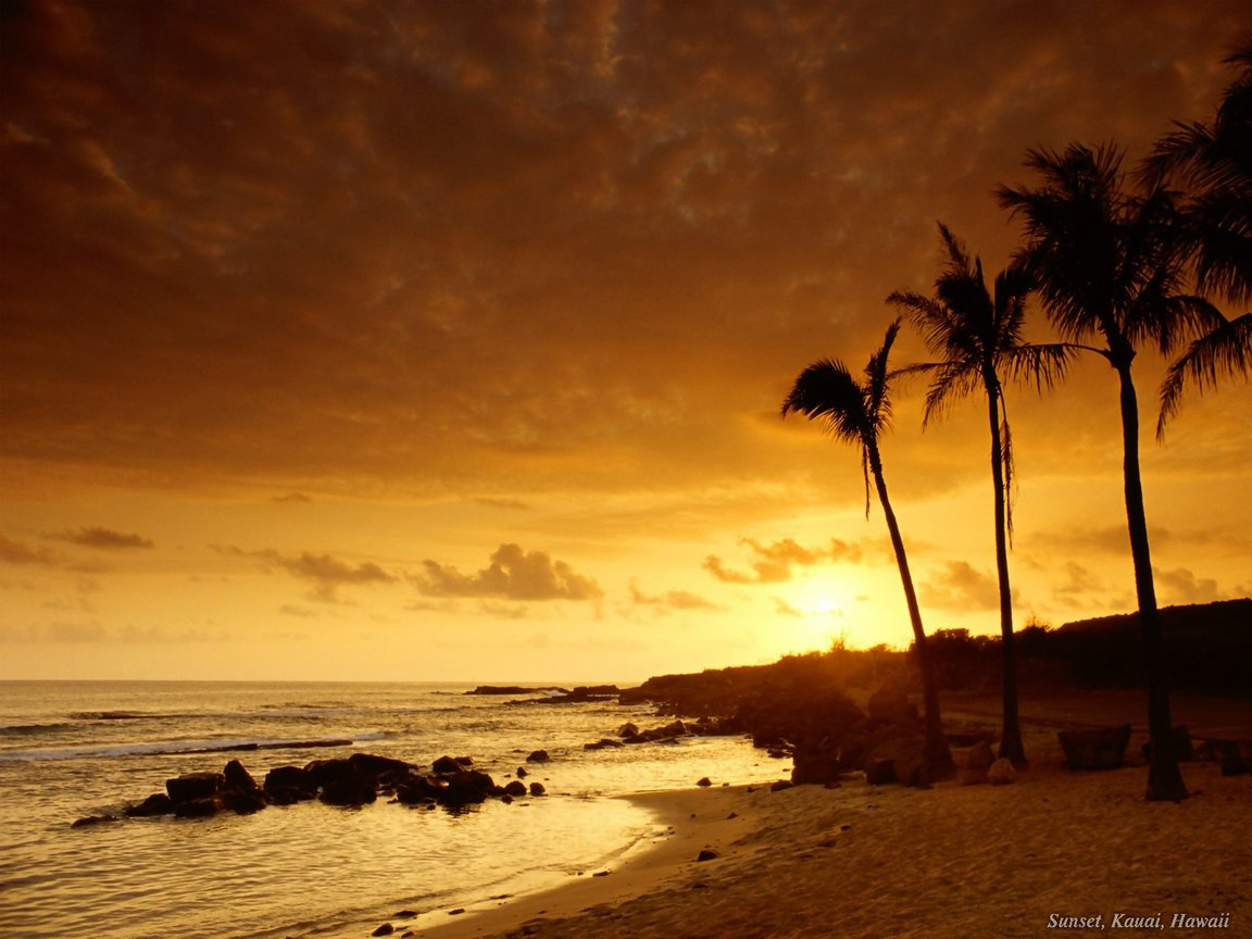 WallpapersKu: Beautifull Sunset Wallpapers