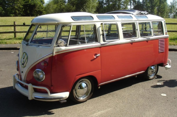 1959 volkswagen microbus deluxe samba for sale vw bus