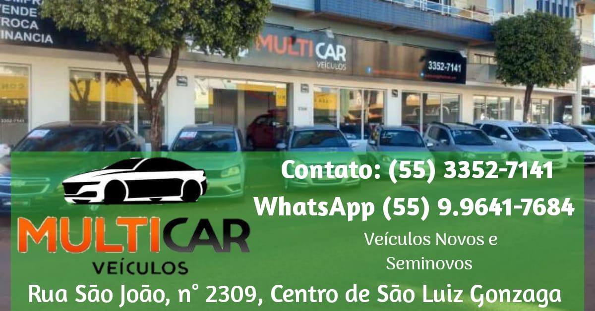 MultiCar Veículos em São Luiz Gonzaga