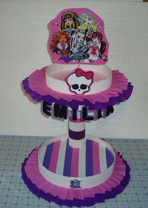 Cotillon de las monster high - Imagui