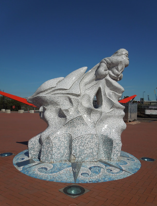 Scott Antarctic Memorial sculpture