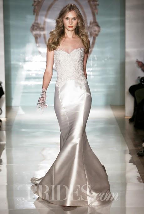 2015 Sweetheart Wedding Dress by Reem Acra, Spring 2015