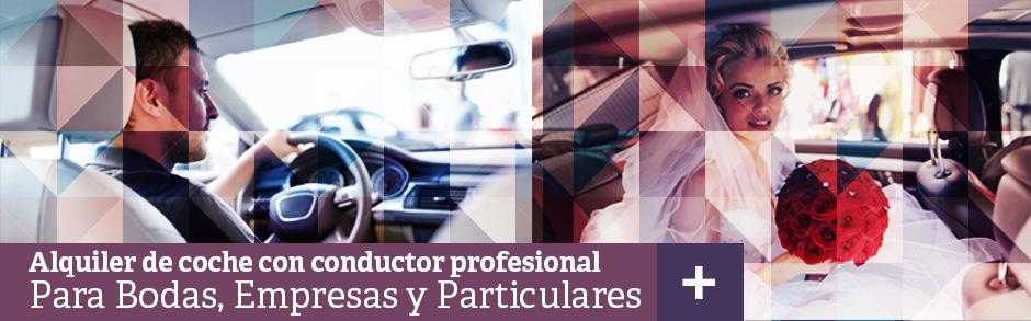 Alquiler de coches con chófer para bodas y empresas en Madrid