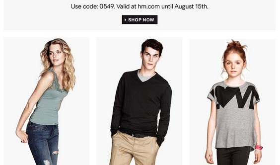 H&M Fashion News: FREE SHIPPING
