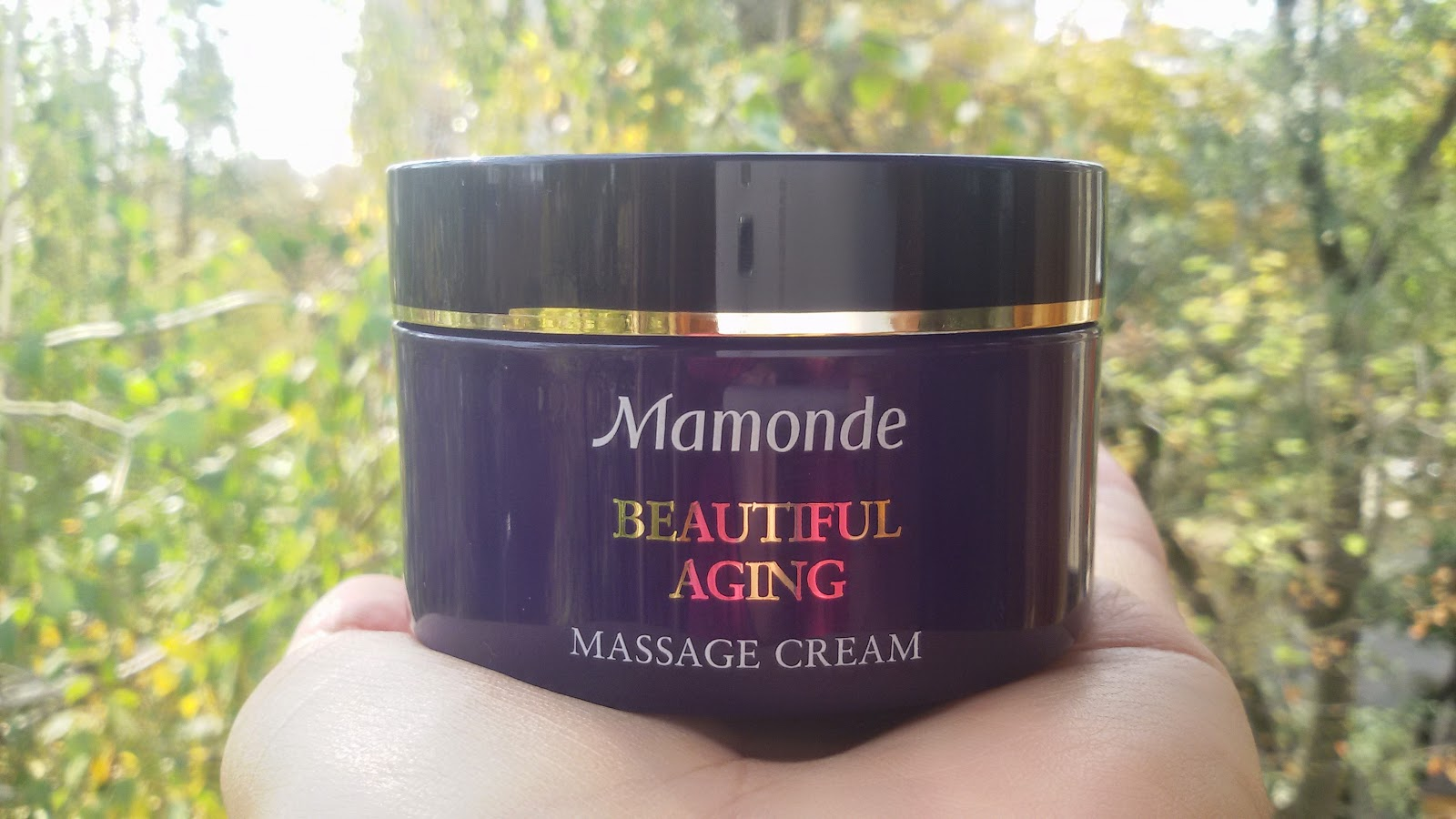 Массажный крем Mamonde Beautiful Aging Massage Cream