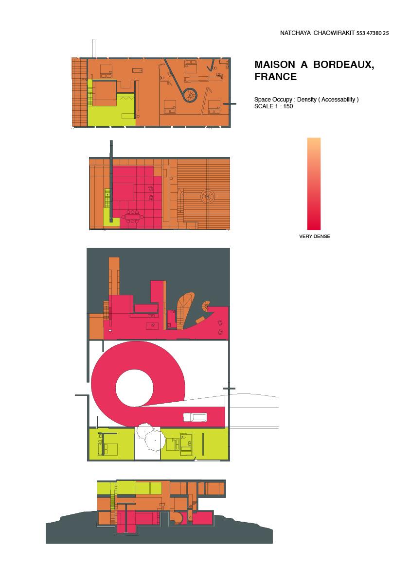 Domestic current tingting 39 s case study maison a for Maison bordeaux