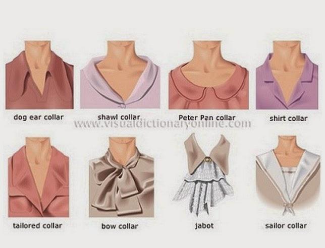 Memilih Model Kerah Baju Wanita Yang Sesuai Untuk Dipakai  Trend