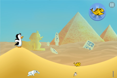 Racing Penguin, Flying Free, iPhone Arcade Games  Free Download, iPhone Applications