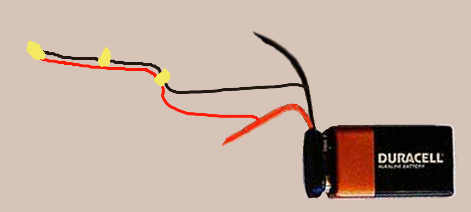 LED wiring for Dollhouse Miniatures: How to Wire