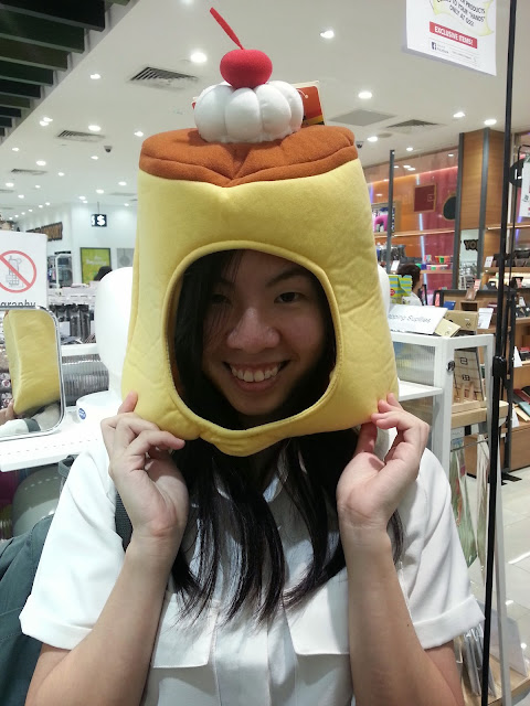 tokyu hands pudding head mask