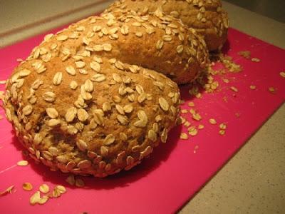 making homemade healthier bread