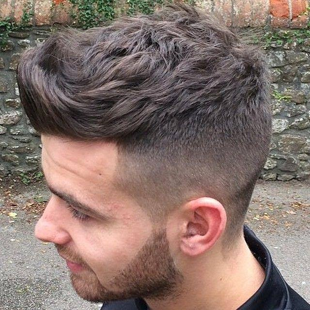 men urban hairstyle look