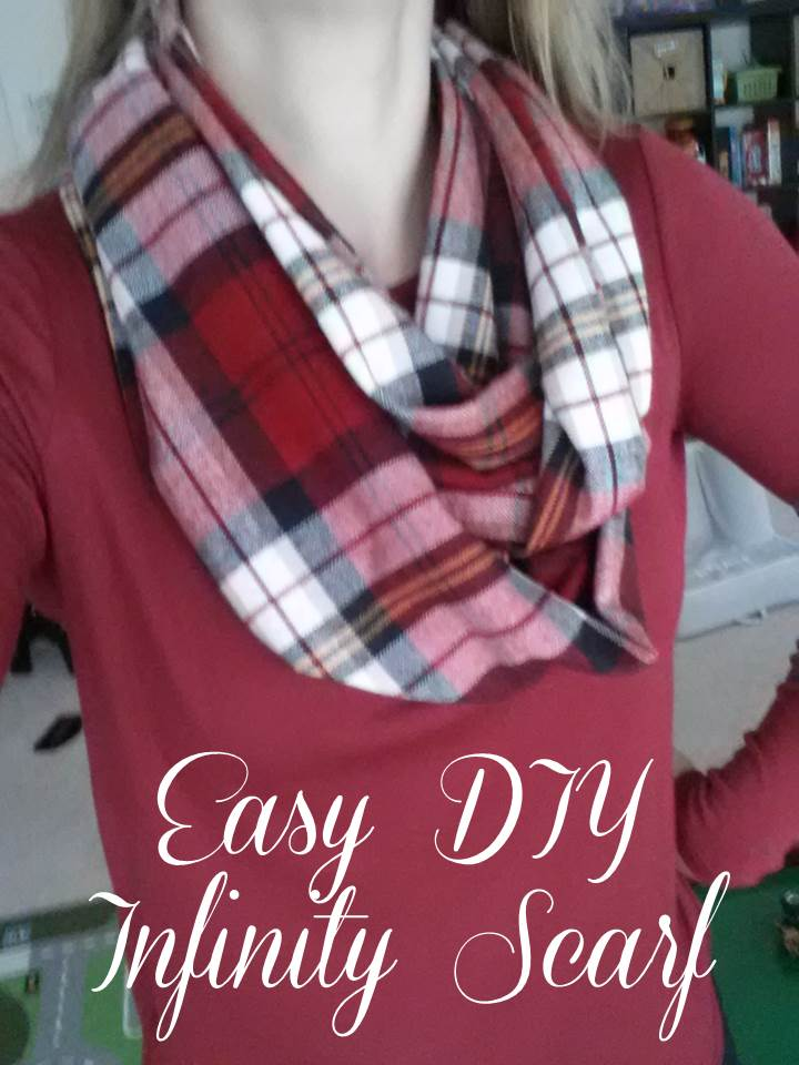 Magnolia Mommy Made Easy Diy Infinity Scarf