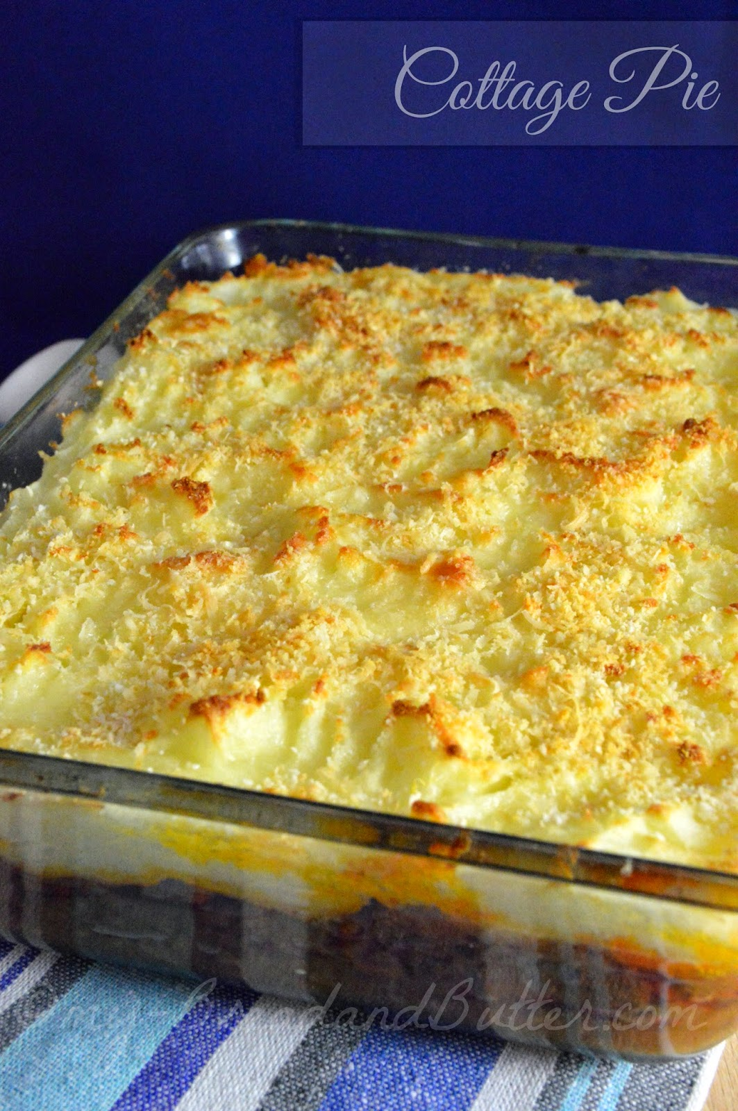 Light  cottage pie
