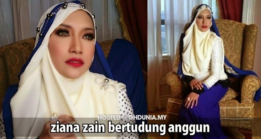 Ziana Zain Muncul Anggun Dengan Gaya Tudung Yang Mempersona