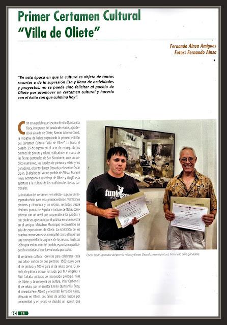 ANDORRA-SIERRA DE ARCOS-TERUEL-OLIETE-PREMIO-PINTURA-REVISTA-ERNEST DESCALS-