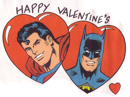 DC Comics Licensed Valentine Day Cards, And Now Iu0027ll Share Them U2026with YOU!  Theyu0027re Slightly Jarring Because Of The Implied Lovemaking ...