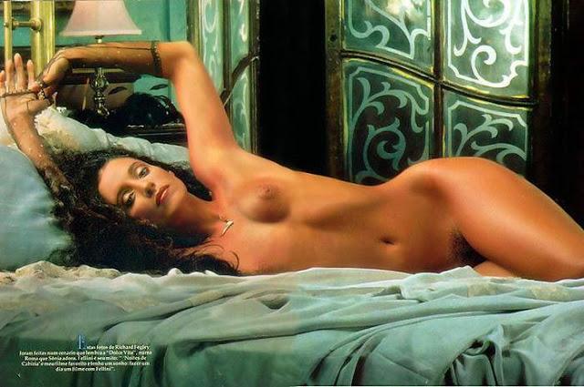 Fotos Da Beldade De S Nia Braga Nua Pelada Na Revista Playboy