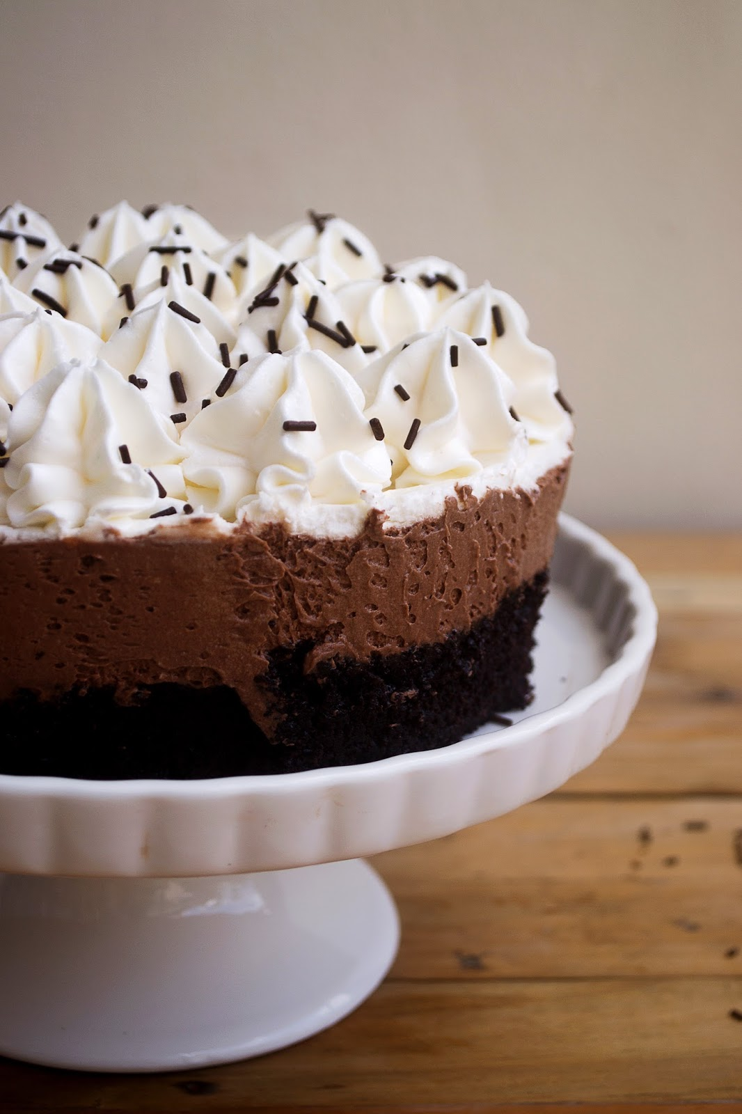 Frost & Serve: Chocolate Mousse Cake Recipe