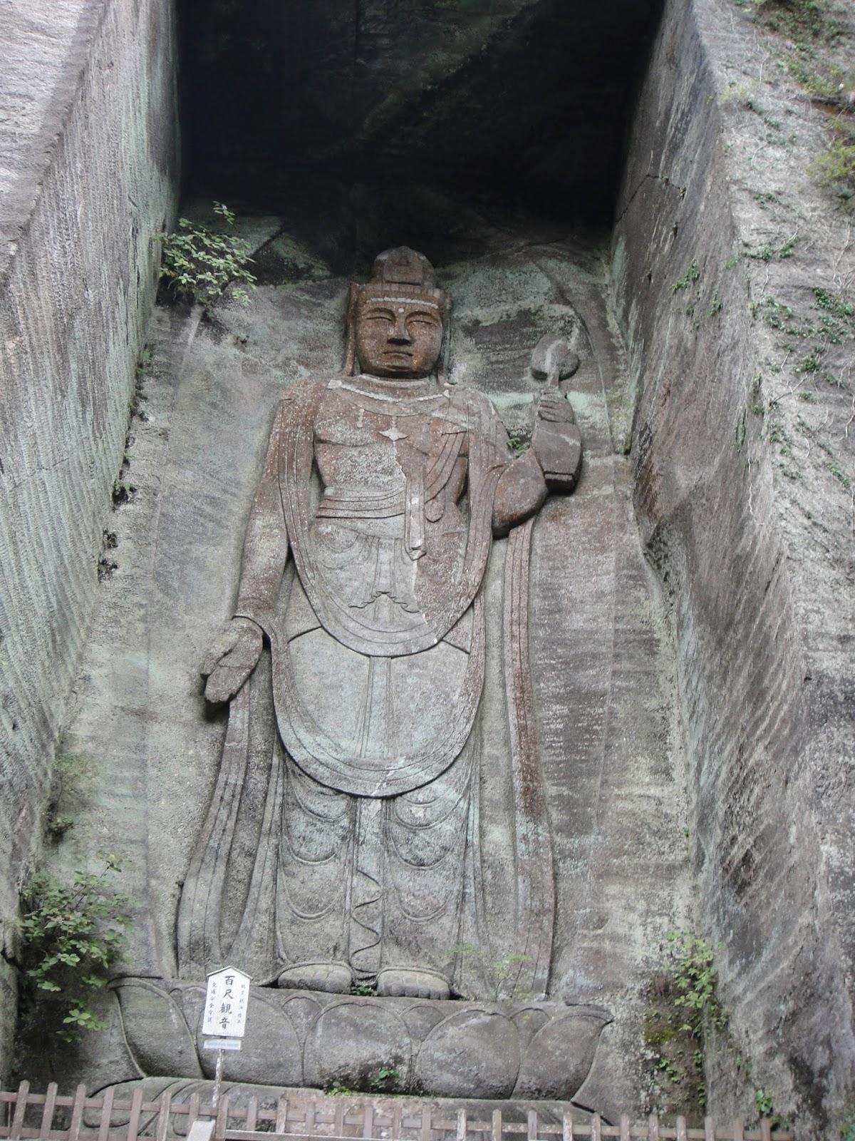 A huge Buddha statue