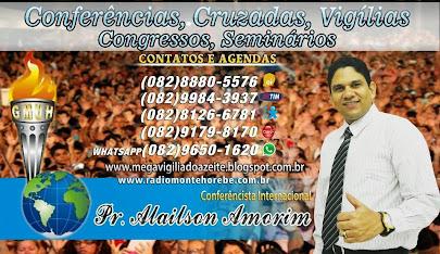 Pastor Alailson Amorim Ministerio Unção e Avivamento