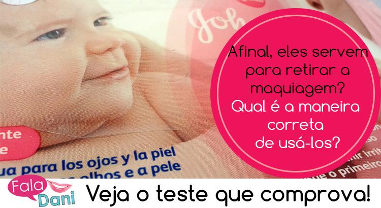 Lenços de bebê para tirar a maquiagem? Realmente funciona?