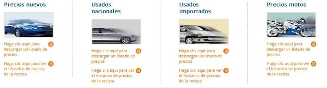 Usados importados Revista Motor agosto de 2012 Usados Nuevos Motos