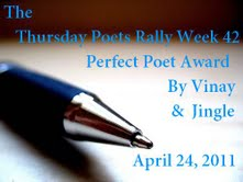 Perfect Poet Award - Week 42 - Thank you Jingle!