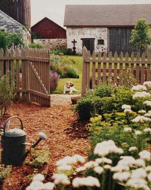 Vivre shabby chic un progetto per il giardino for Costruire un cottage