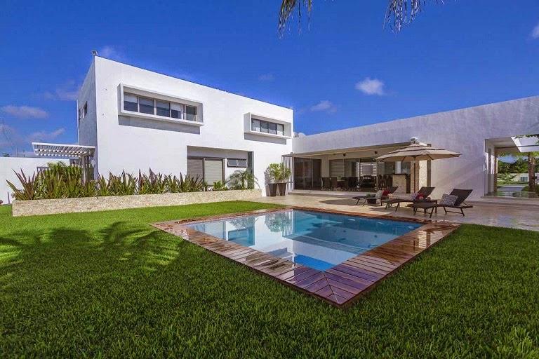 Moderna l neas puras minimalistas casa kopche grupo for Casa y jardin mexico