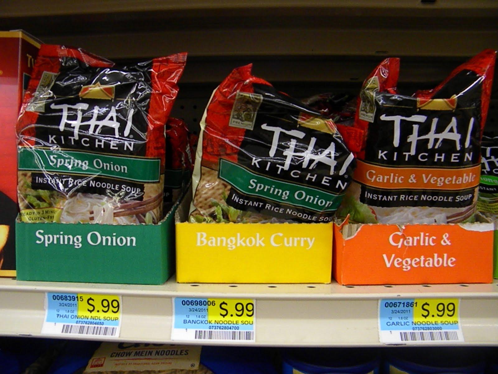 Thai Kitchen Noodles Living  Laughing  Saving Saving  Sunshine Free Thai Kitchen