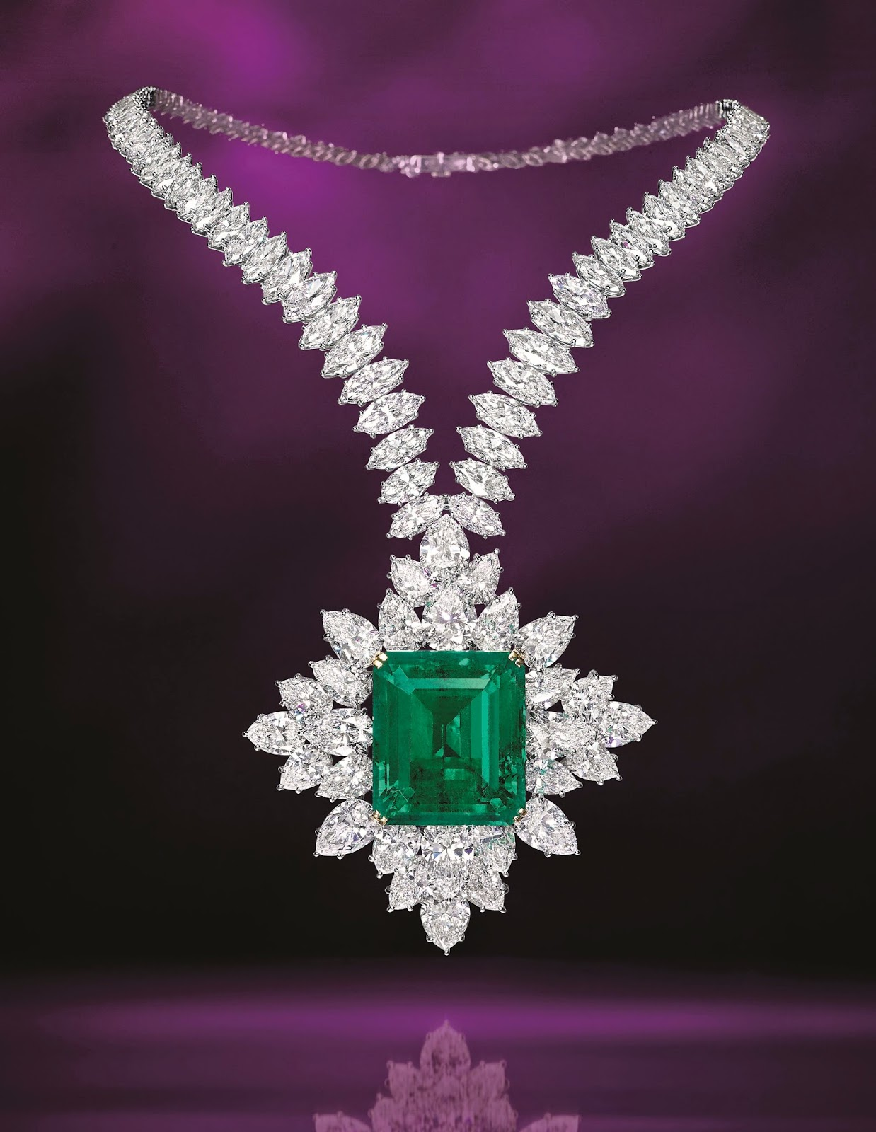 Kee hua chee live harry winston emerald and diamond necklace for harry winston emerald and diamond necklace for rm 12 million to rm 16 million truly the sparkle of spring aloadofball Images