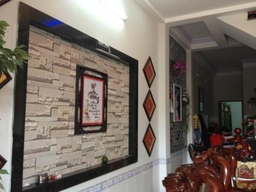 Tường trang trí tranh phong thủy đẹ