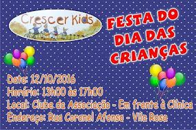 Clinica Crescer Kids Festa do Dia das Crianças