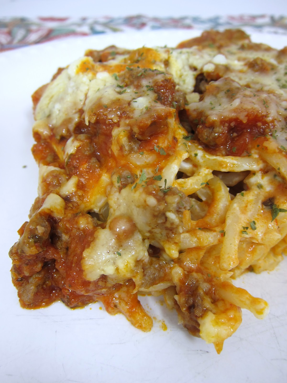 Baked Pasta With Tomato, Cream, And Five Cheeses Recipes — Dishmaps